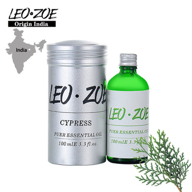LEOZOE Cypress Essential Oil Certificate Of Origin India Aromatherapy High Quality Cypress Oil 100ML Massage Oil
