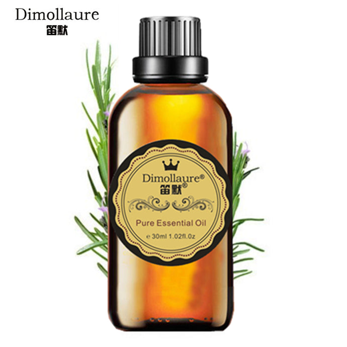 Dimollaure, Rosemary Essential oil, aromatherapy skin care body massage oil
