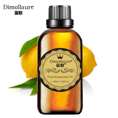 Dimollaure, Lemon Essential Oil, Relax Spirit,Skin Care, Aromatherapy,body massage oil acne treament