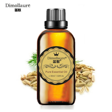 Dimollaure, Fennel Essential oil, Relieve stomach, SPA ,body massage,  Aromatherapy essential oil skin care
