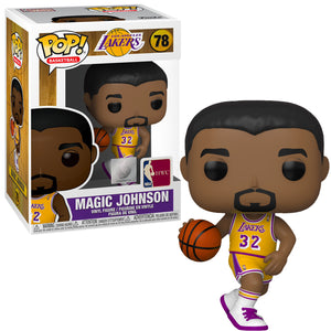 Pop! NBA L.A. Lakers Legends Magic Johnson Vinyl Figure
