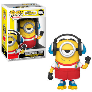 Funko Pop! Movies Minions 2 Roller Skating Stuart Vinyl Figure