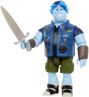 DISNEY PIXAR ONWARD BARLEY LIGHTFOOT FIGURE