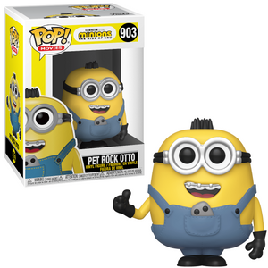 Pop! Movies Minions 2 Pet Rock Otto Vinyl Figure