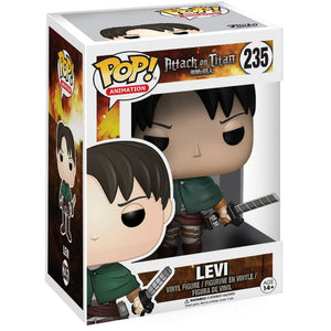Pop! Animation Attack on Titan Levi Ackerman Action Figure
