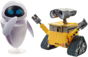 DISNEY PIXAR WALL-E EVE FIGURES