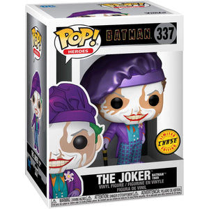 Pop! Heroes Batman 1989 The Joker with Hat With Chase Vinyl Figure