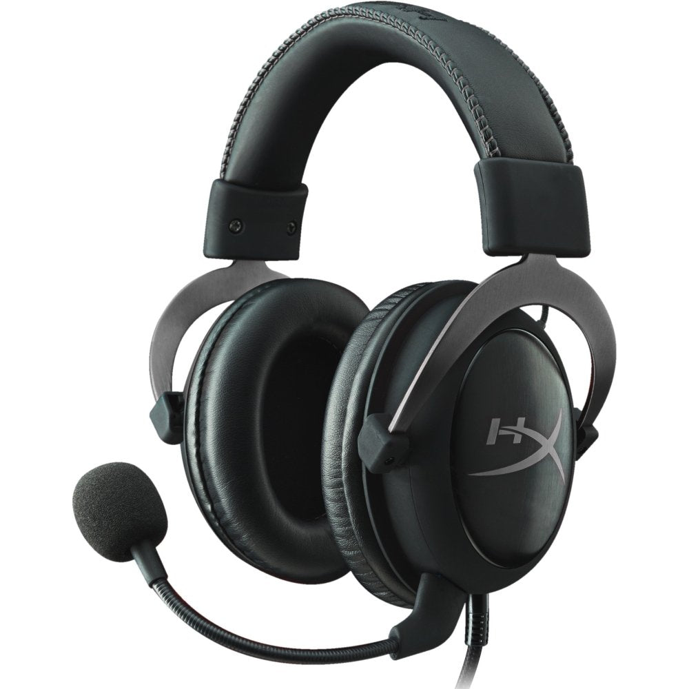 HyperX - Cloud II Wired Gaming Headset - Black/Gunmetal