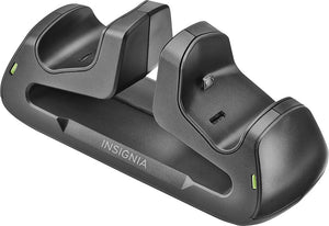 Insignia™ - Dual Controller Charger for PlayStation 4 - Black