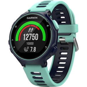 Garmin - Forerunner 735XT Smartwatch - Midnight Blue/Frost Blue