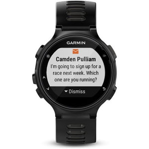 Garmin - Forerunner 735XT Smartwatch - Black/Gray