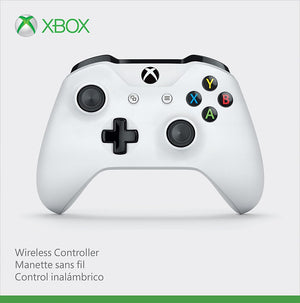 Microsoft - Wireless Controller for Xbox One and Windows 10 - White