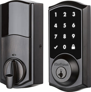 Kwikset - 919 Premis Bluetooth Touchscreen Smart Lock - Venetian bronze