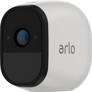 Arlo - Pro Indoor/Outdoor 720p Wi-Fi Wire-Free Security Camera - White