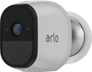 Arlo - Pro 3-Camera Indoor/Outdoor Wireless 720p Security Camera System - White