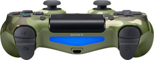 Sony - DualShock 4 Wireless Controller for Sony PlayStation 4 - Green Camouflage