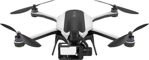 GoPro - Karma Quadcopter with Harness for HERO5 Black and HERO6 Black - Black/White