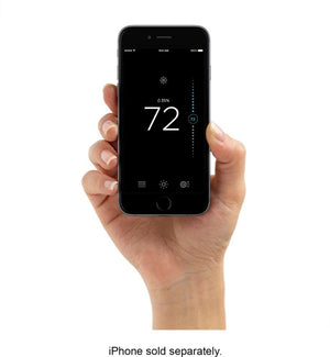 ecobee - ecobee3 lite Smart Thermostat - Black