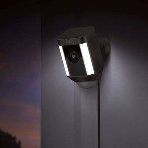 Ring - Spotlight Cam Wired - Black