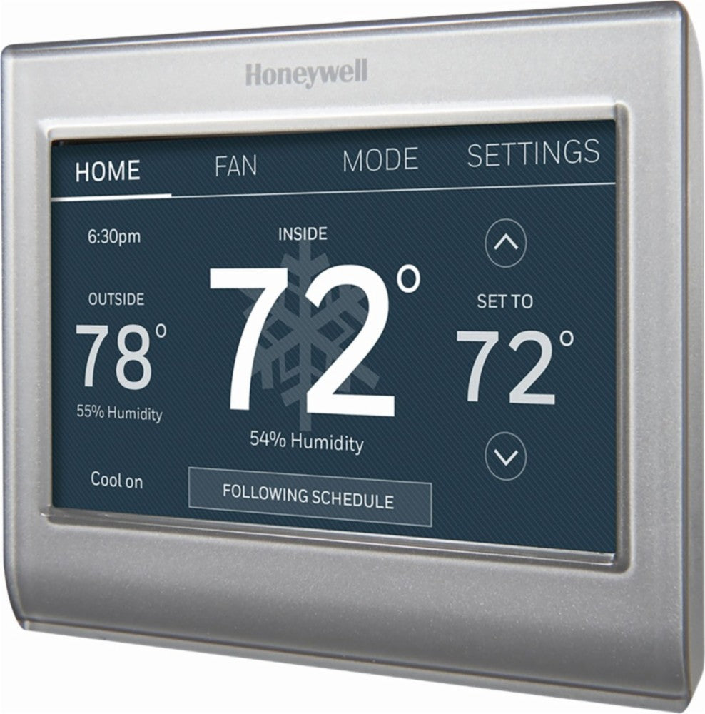 Honeywell - T5  Smart Programmable Touch-screen Wi-fi Thermostat - Bla