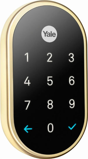 Nest x Yale - Smart Lock with Nest Connect - Polished Brass