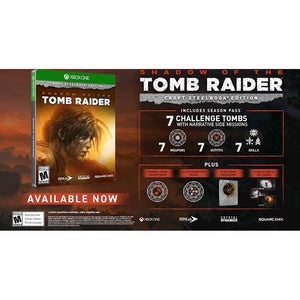Shadow of the Tomb Raider Croft SteelBook Edition - Xbox One