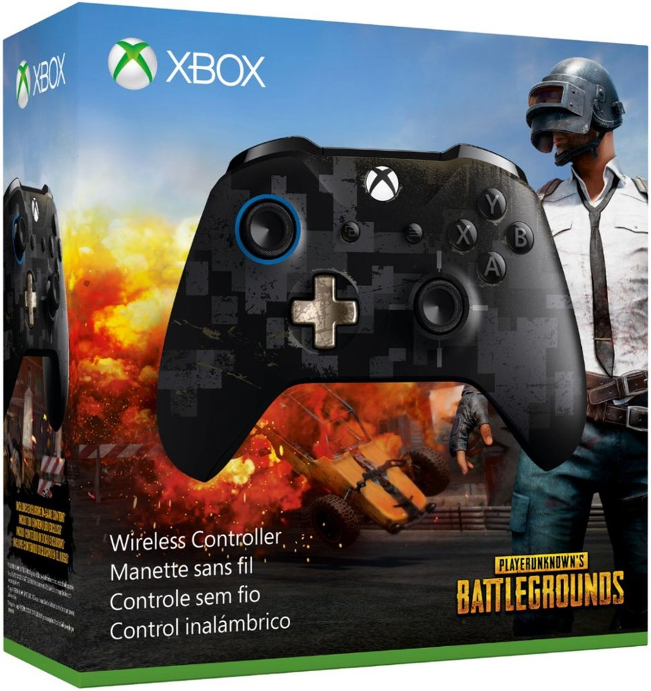 Microsoft - PLAYER UNKNOWN'S BATTLEGROUNDS Limited Edition Wireless  Controller for Xbox One and Windows 10
