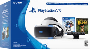 Sony - PlayStation VR ASTRO BOT Rescue Mission and Moss Bundle - Black/Blue