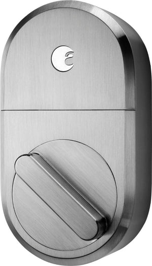 August - Wi-Fi Deadbolt Replacement Smart Lock - Satin Nickel