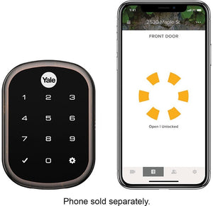 Yale - Assure Lock SL Key Free Touchscreen Smart Lock - Oil Rubbed Bronze