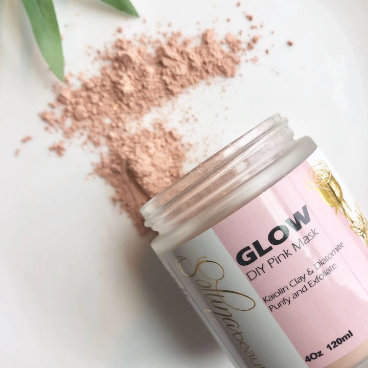 Exfoliating and Refining : Glow - Pink Clay Face Mask