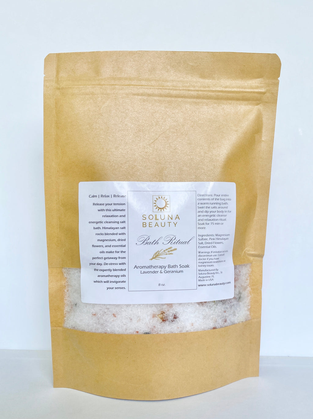 Bath Ritual - Aromatherapy Soaking Bath Salt