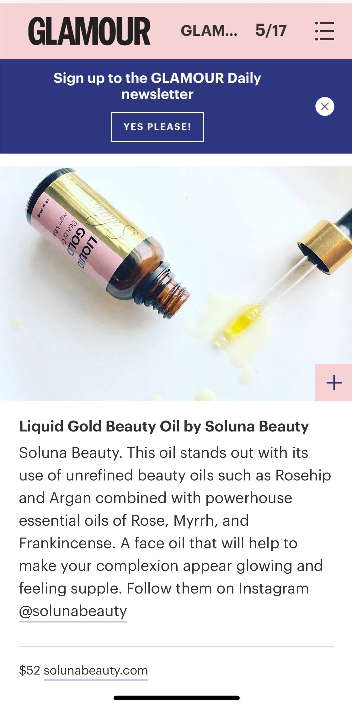 Complexion Enhancing: Liquid Gold - Beauty Oil