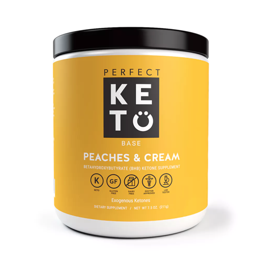 Perfect Keto Canada - Peaches and Cream Exogenous Ketones
