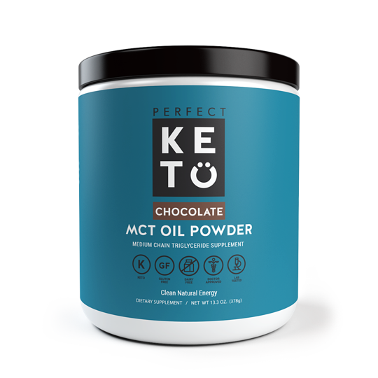 Perfect Keto MCT Oil Powder - Chocolate