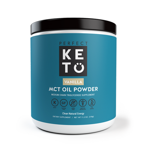 Perfect Keto MCT Oil Powder - Vanilla