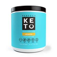 Perfect Keto - Keto Perform Ketone Sports Drink Pre-Workout Lemon