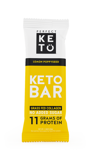 Keto Bar - Lemon Poppyseed