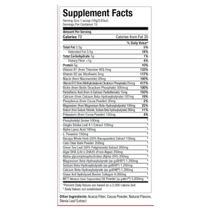 Keto Nootropic Perfect Keto Canada Label Detailed