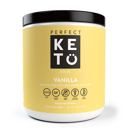 Perfect Keto in Canada - Vanilla Exogenous Ketones