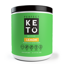 Keto Greens Powder With MCTs - Lemon