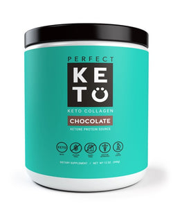 Perfect Keto Keto Collagen Chocolate Front