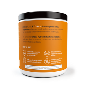 Perfect Keto Canada - Salted Caramel Exogenous Ketones