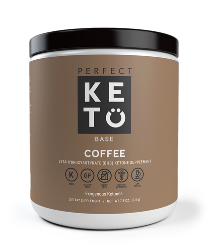 Perfect Keto Base Ketones - Coffee