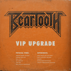 10.10.18 - BEARTOOTH VIP - CHARLESTON, SC