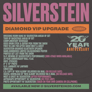 08.12.20 Silverstein VIP Upgrade - Salt Lake City, UT