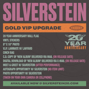 02.29.20 Silverstein VIP Upgrade - Montreal, QC