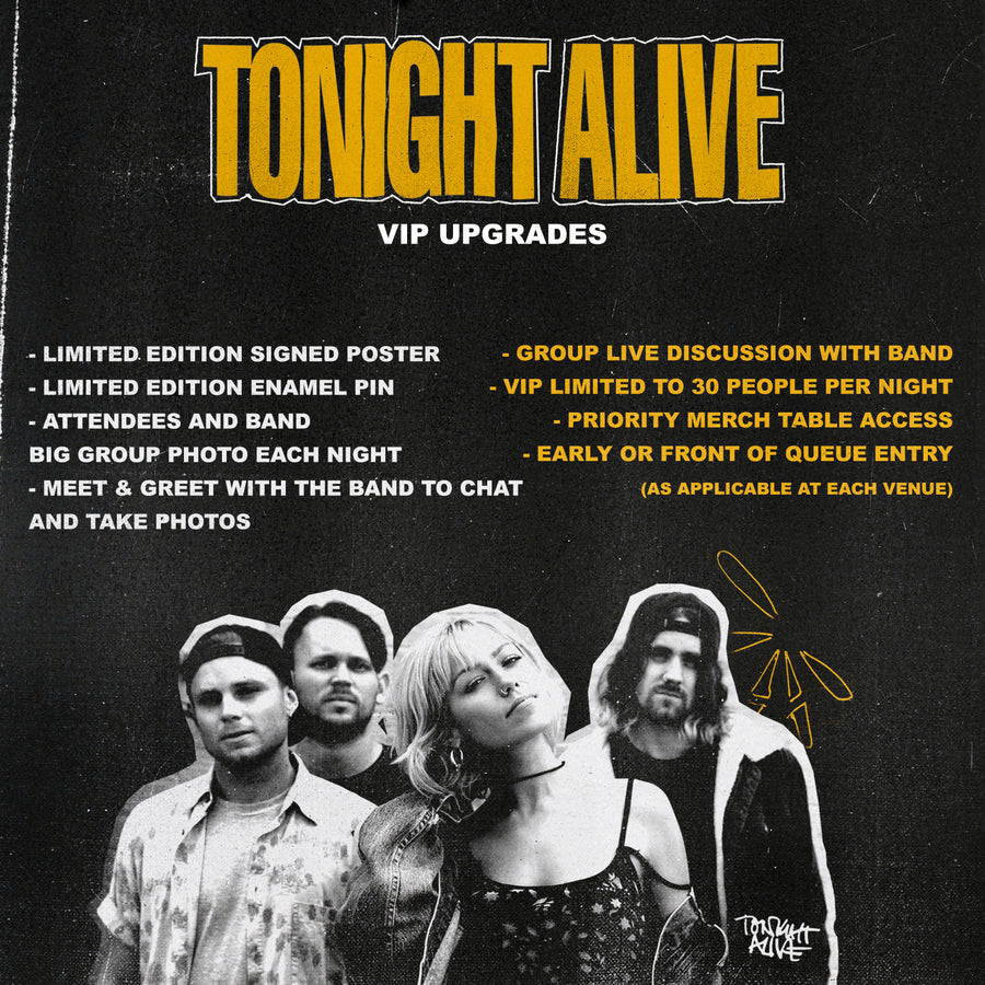 01.18.19 - TONIGHT ALIVE VIP - GARDEN GROVE, CA