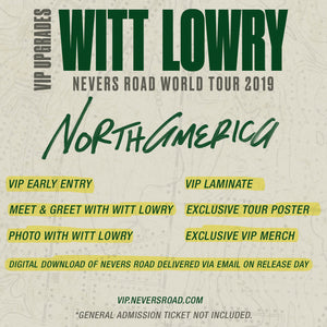 09.15.19 - Witt Lowry VIP Upgrade - Seattle, WA
