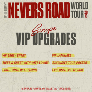 02.11 - Glasgow - Garage - VIP Upgrade